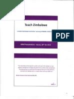 Teach Zimbabwe KfW Presentation 28 10 2010