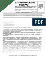 TALLER DE COMPETENCIAS GRADO NOVENO  MARZO 2020