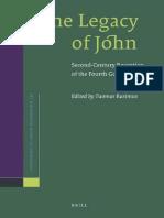 Tuomas Rasimus (editor) - The Legacy of John_ Second-Century Reception of the Fourth Gospel (Supplements to Novum Testamentum)-BRILL (2009).pdf