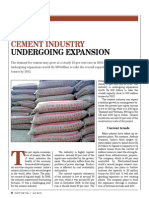 Cement Industry - Undergoing Expansion