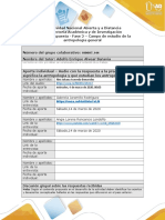 Formato respuesta - Fase 2 - La antropología y su campo de estudio _ Grupo 144. (1) grupo colaborativo