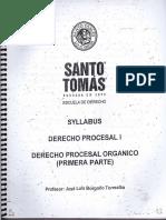 Derecho Procesal I (Parte 1)