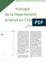Epidemiologia de la Hipertension Arterial en Chile 2005