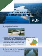 Cuencas Más Importantes de México