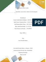 Paso 3 - Antecedentes, marco teórico y objetivos de la Investigación.