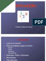 LA ACENTUACIÓN EN ESPAÑOL Y SUS REGLAS
