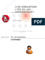 1- ITIL V3 - Intro Et Pratique v1.23