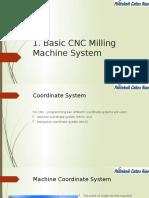 1. Basic CNC Milling Machine System