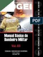 Manual Básico de Bombeiro  Volume 3