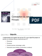 4- ITIL V3 - Conception Du Service v0.52