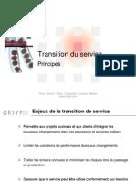 5- ITIL V3 - Transition Du Service v1.12