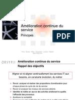 7- ITIL V3 - Am+®lioration continue v0.3