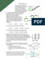 Hydraulics Problem Set 2