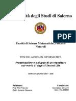 Progettazione e Sviluppo Di Un Repository Di Oggetti SL