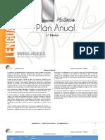 Planificacion Anual - LENGUAJE Y COMUNICACION - 1Basico - P