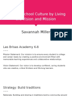 shaping school culture by living the vision and mission presentation  1