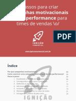 Ignição Comercial - 7 Passos Para Criar Campanhas Motivacionais De Alta Performance Para Times De Vendas