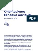 Orientaciones MINEDUC_Coronavirus
