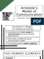 Aristotle's Model of Communication.pptx