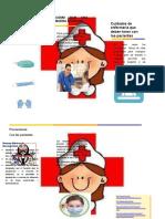 folleto enfermeri