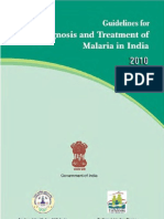 Guidelines for Diagnosis and Treatment of Malaria in India - 2010