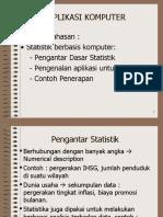 Pengantar Statistik