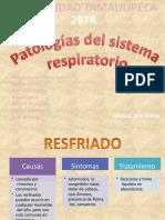 PATOLOGIASSISTEMA RESPIRATORIO