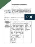Guía Didáctica Investigación y Documentación