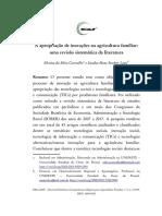 A apropriação de inovações na agricultura familiar