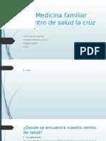 Medicina familiar informe
