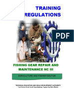 TR - Fishing Gear Repair and Maintenance NC III