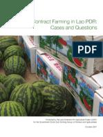 Contract Farming Laos LEAP Fullbrook 2007