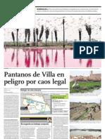 Pantanos de Villa en Peligro Por Caos Legal