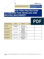 Fire Protection Standard for Vehicles and Moving Machinery