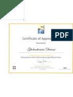 World Bank Certificate