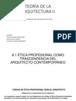 Ética Profesional como Trascendencia del Arquitecto Contemporáneo.pdf