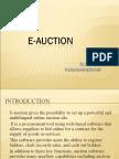 Eauction Presentation