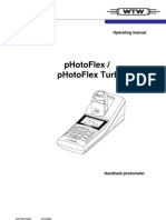 Operating Manual pHotoflex WTW