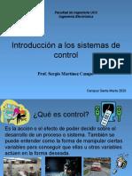 Clase01 - Introducción a los SIstemas de Control Digital