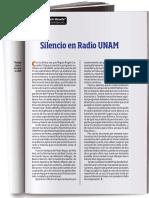 Silencio en Radio UNAM - Daniel Cazes Manache