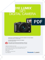 DMC-GF1 Spec Sheet