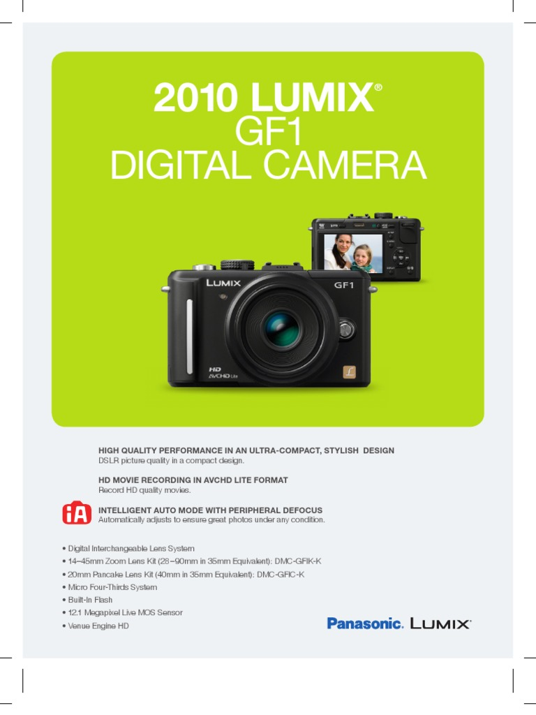 Cámara cable Audio Video USB AV para Panasonic Lumix dmc-gf1