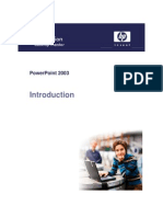 Power Point - Introduction