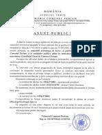 Anunț Program Cu Publicul-17.03.2020