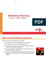 CME 106 Marketing Planning Course Sample Materials Alm