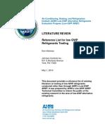 AHRI Low-GWP AREP-Literature Review.pdf