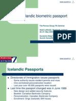 Iceland e Passport