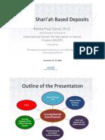 Insuring Shariah Based Deposits