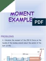 B18 Statics_Moment - Problems.pdf