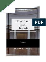 El eslabón más delgado - Hernán Maurette
